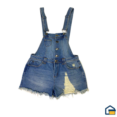 Hot Kiss Enterizo Short (Jean - M)