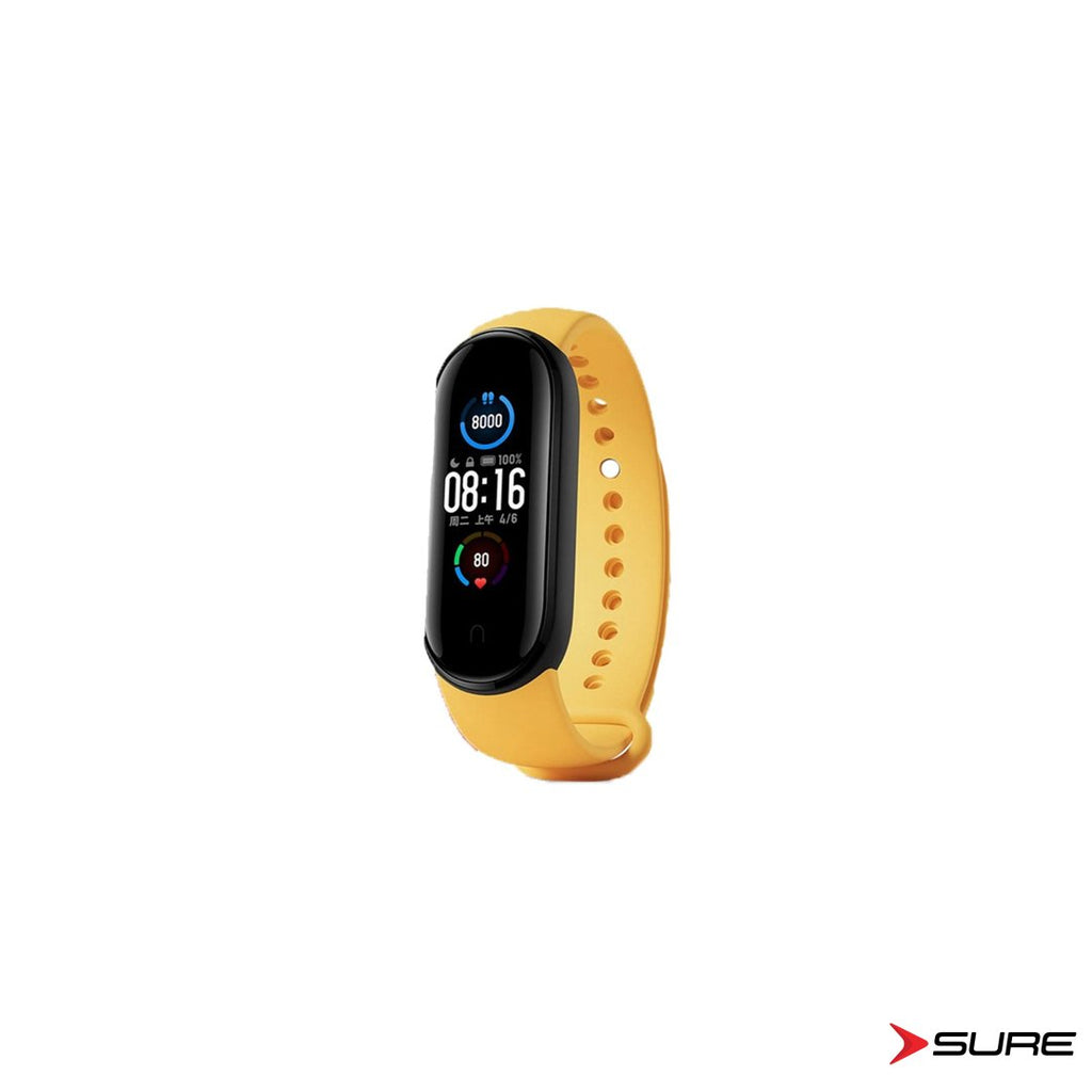 Xiaomi Mi Band 5 Pantalla OLED a color/ IOS Y ANDROID/ 125mAh/ 5 ATM