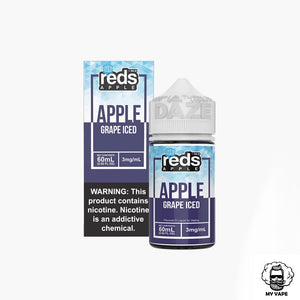 Reds Apple | E-Liquid | 60 ml | 3 mg | Iced - Grape