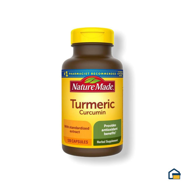 Nature Made Turmeric Curcumin - 120 tabletas
