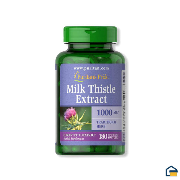 Puritans Pride Milk Thistle Extract -180 tabletas