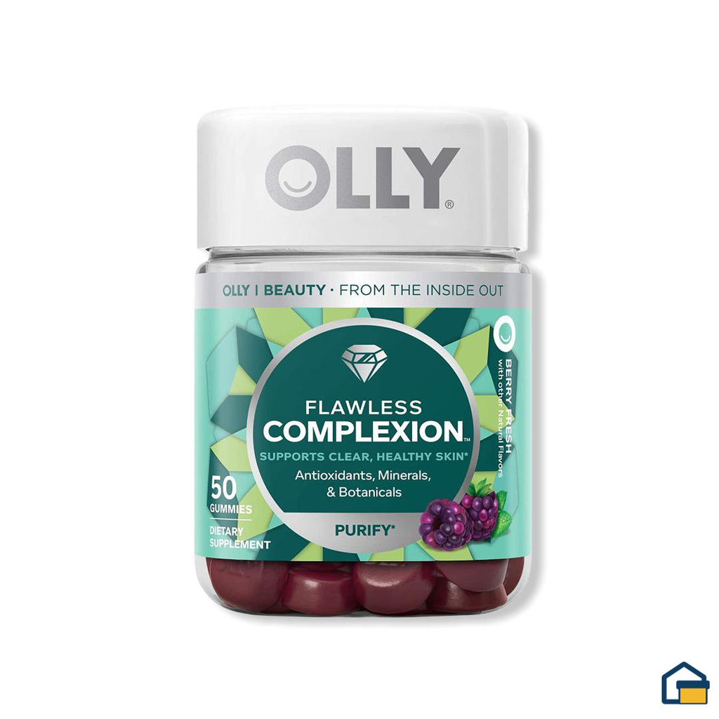 Olly Flawless Complexion - 50 gomitas
