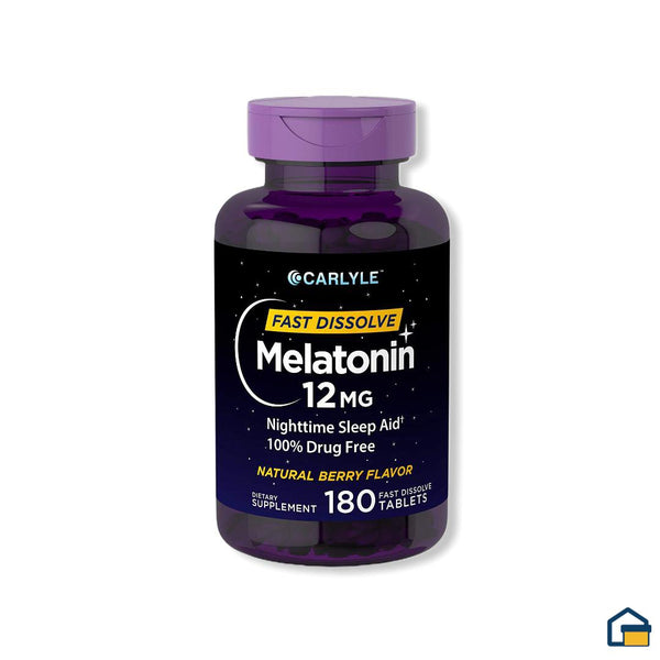 Carlyle Melatonina 12 mg - 180 tabletas