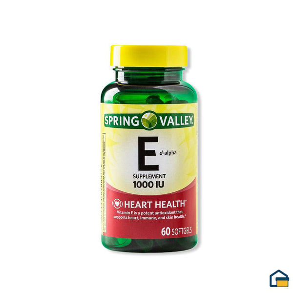 Sring Valley Vitamina E 670 mg - 60 tabletas