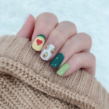 Load image into Gallery viewer, avocado nail wraps