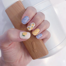 Load image into Gallery viewer, lemon nail wraps