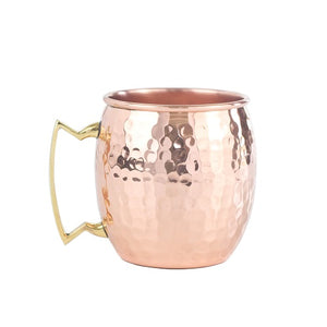 Original Hammered Copper Mug