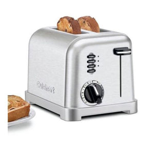 2-Slice Metal Classic Toaster (Black Stainless)