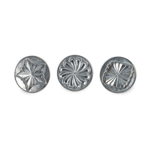 NordicWare Cookie Stamps (Set of 3): Pretty Pleated