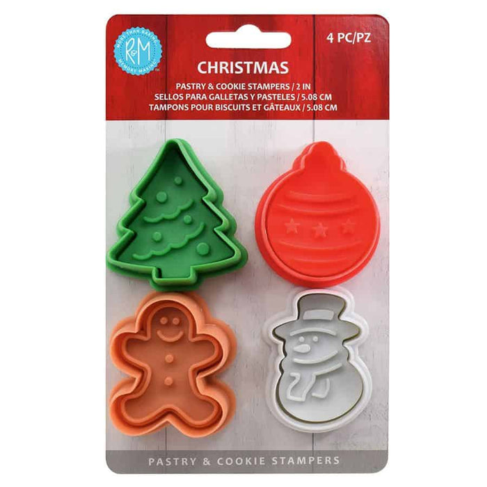 R&M Pastry Stamper Set: Christmas
