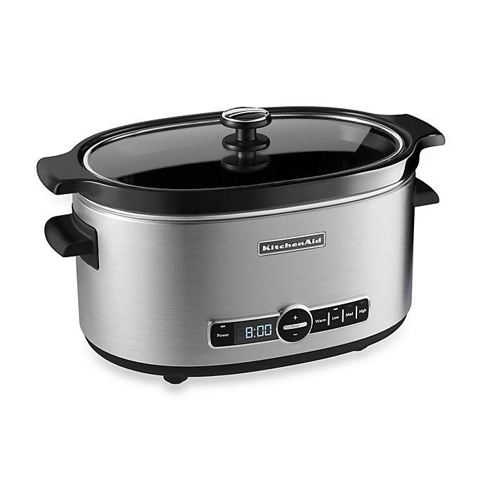 KitchenAid Slow Cooker: 6 QT