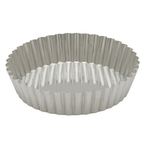 "Gobel Round Tart Pan:  8"", Deep - Zest Billings, LLC"