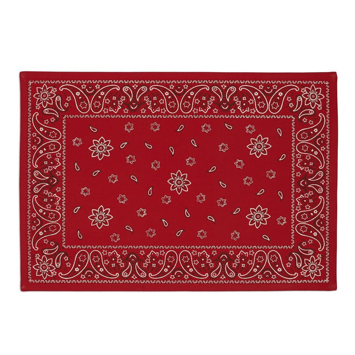 DII Placemat: Red Bandana