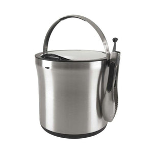 OXO Steel ice Bucket and Tong Set - Zest Billings, LLC