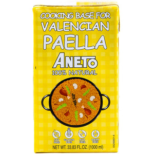 Aneto Valencian Paella Cooking Base, 1000mL