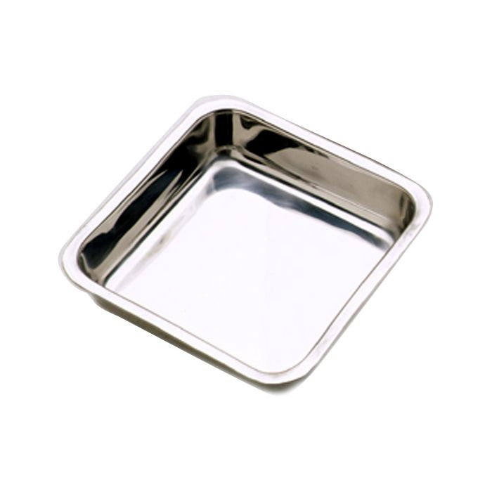 "NorPro Square Cake Pan: 8"", Stainless Steel"