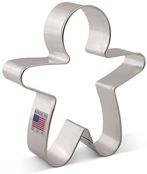Ann Clark Cookie Cutter Gingerbread Man, Small - Zest Billings, LLC