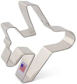 Ann Clark Cookie Cutter Airplane - Zest Billings, LLC