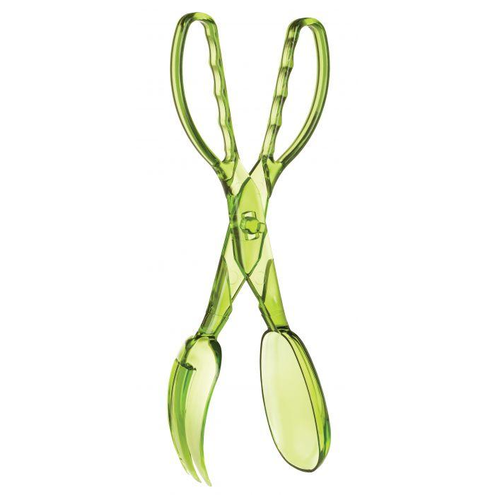 HIC Kitchen Acrylic, Salad Tong, 11.5in