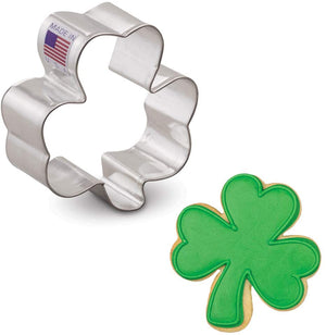 "Ann Clark Cookie Cutter Shamrock - 3"" - Zest Billings, LLC"