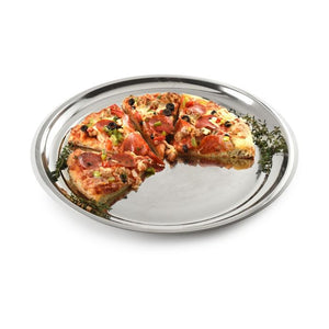 "NorPro Pizza Pan: 13.5"", Stainless Steel"