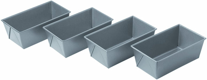 Chicago Metallic Mini Loaf Pans - Set of 4