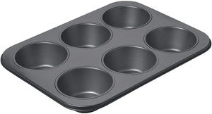 Chicago Metallic Non-Stick 6 Cup Giant Muffin Pan - Zest Billings, LLC