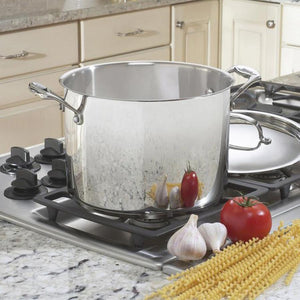 Cuisinart Chef's Classic Stockpot: 8 QT - Zest Billings, LLC