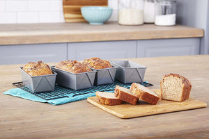 Chicago Metallic Mini Loaf Pans - Set of 4 - Zest Billings, LLC