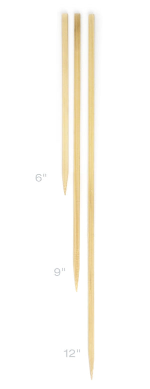 "RSVP Flat Bamboo Skewers, 12"" - Zest Billings, LLC"