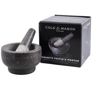 Cole & Mason Granite Mortar and Pestle