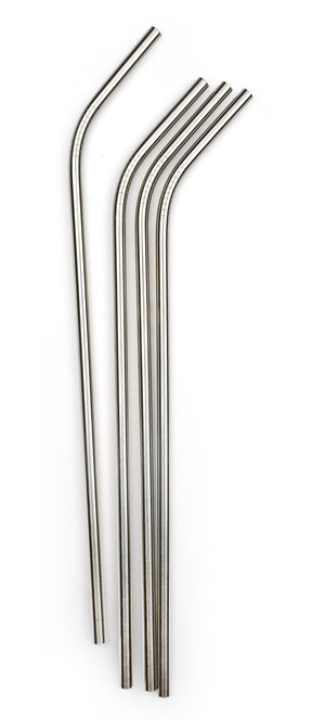 RSVP Straws: Stainless, Long - Zest Billings, LLC