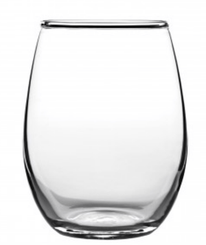 Franmara Stemless Wine Glass, 15oz - Zest Billings, LLC