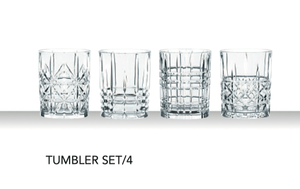 Nachtman Highland Tumbler: Set of 4 - Zest Billings, LLC