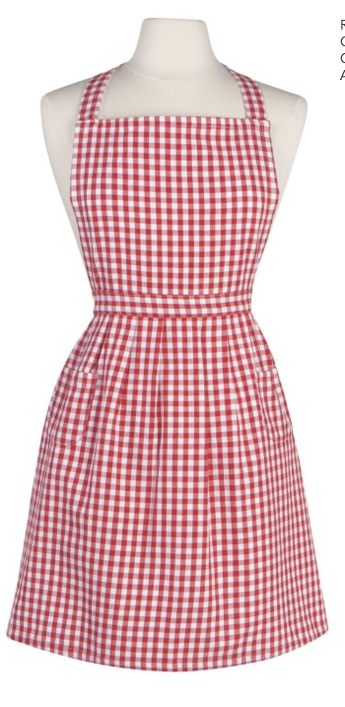 NOW Designs Apron: Classic, Gingham