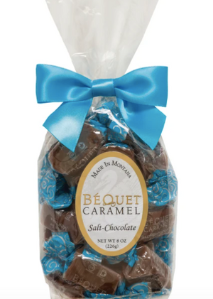 Bequet Caramel 4oz. Gift Bag - Salt Chocolate