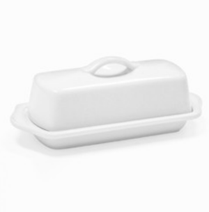 "Chantal Butter Dish- 8.5"" - Zest Billings, LLC"