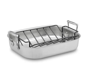 All-Clad Specialty Roaster w/ Rack - Large - Zest Billings, LLC