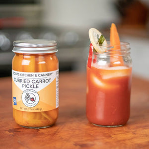 Roots Kitchen & Cannery Curried Carrot Pickles