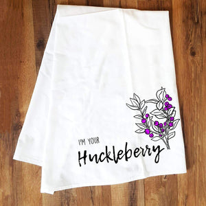 Corvidae Tea Towels Huckleberry - Zest Billings, LLC