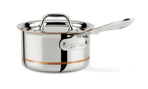 All-Clad Copper Core Sauce Pan w/Lid: 1.5 QT - Zest Billings, LLC