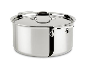 All-Clad D3 Stock Pot w/Lid -  8 QT - Zest Billings, LLC