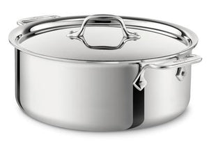 All-Clad D3 Stock Pot w/Lid -  6 QT - Zest Billings, LLC