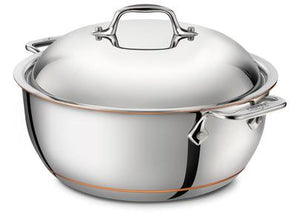All-Clad Copper Core Dutch Oven W/Lid: 5.5 QT - Zest Billings, LLC