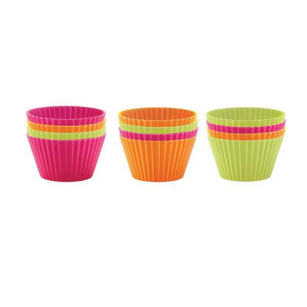 Lekue Muffin Cups: Regular, Set of 12