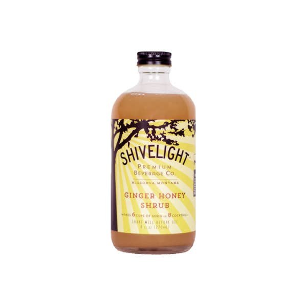 Shivelight Ginger Honey Shrub