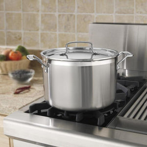 Cuisinart MultiCladPro StockPot: 8 QT - Zest Billings, LLC