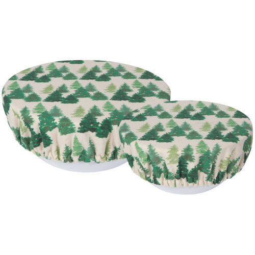 Now Designs Bowl Covers: Woods, Set of 2