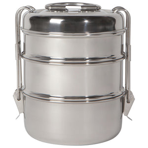 NOW Designs Tiffin: Stainless Steel