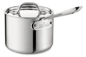 All-Clad D3 Sauce Pan w/Lid - 2 QT - Zest Billings, LLC